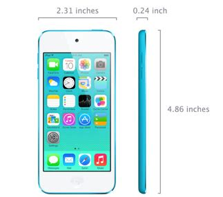 ipod touch  generation technical specifications