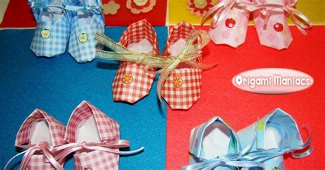 How To Make An Origami Baby - learn how to make these adorable origami baby shoes at