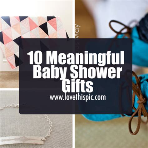 10 meaningful baby shower gifts - Meaningful Baby Shower Gifts