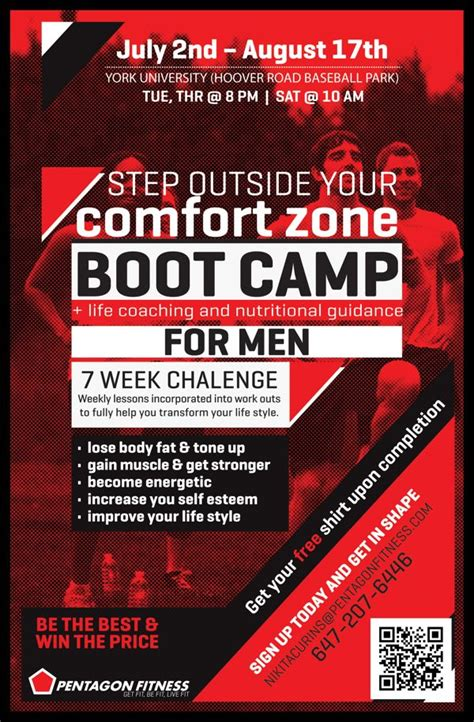Pentagon Fitness Bootc Flyers Personal Training Stuff Pinterest Fitness Bootc Boot C Flyer Template