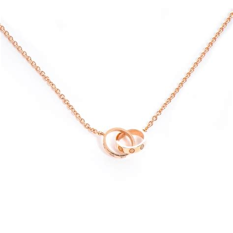cartier 18k gold baby necklace 62518