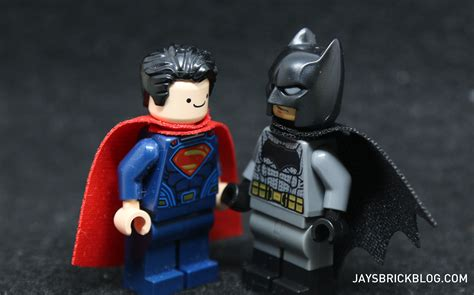Lego Superman Vs Batman with lego finn heads