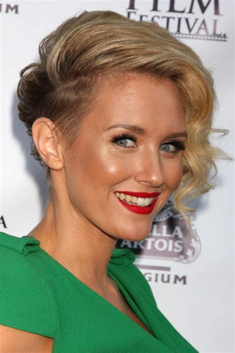 very short side parted hairstyle pictures top 40 hottest very short hairstyles for women
