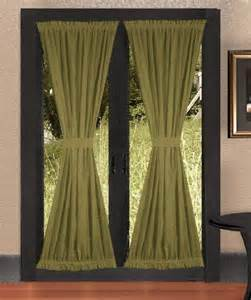 Curtains For Door Window by Olive Green Door Curtains