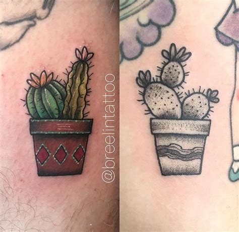 cactus tattoo ink pinterest