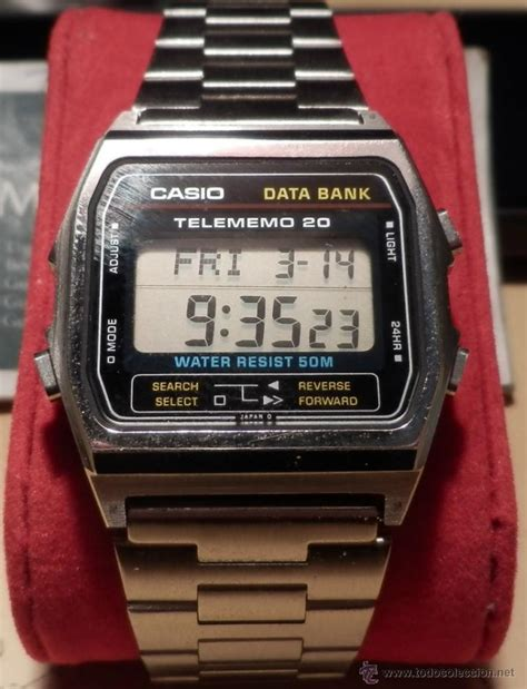 Jam Tangan Casio Data Bank Db 360g relojes casio telememo 50