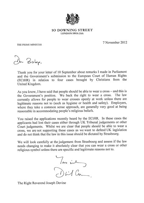 exle of formal letter to prime minister philothea on phire a scottish bishop stands up for the faith