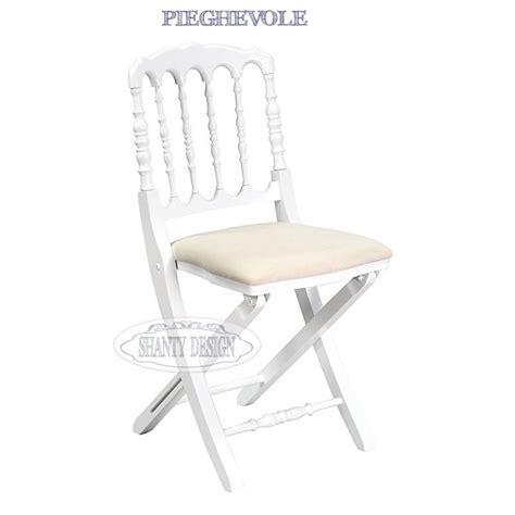 sedie pieghevoli roma sedia pieghevole provenzale roma 11 sedie shabby chic
