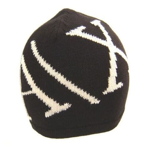 from the collection of armani exchange beanie hats with