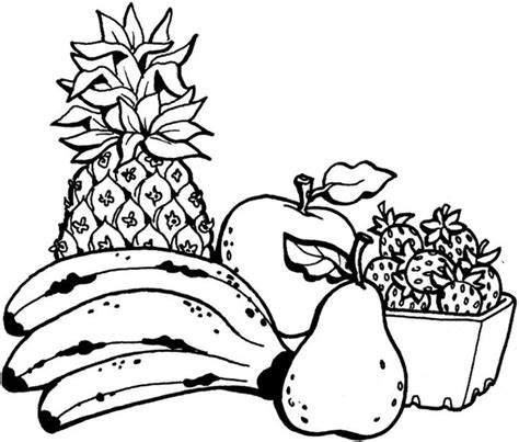 fruit coloring pages coloring now 187 archive 187 fruit coloring pages