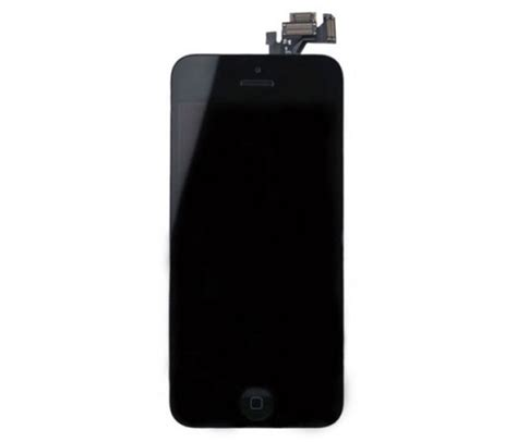Lcd Iphone 5 Black iphone 5 lcd screen assembly with home button black