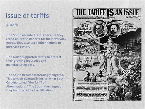 sectional tariff sectionalism