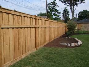 backyard fence radio fencing options bob s blogs backyard fences