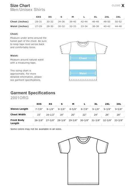 american apparel size chart american apparel sizing chart limited sizes pink 2nd