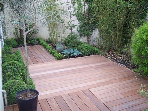 terrasse de jardin en bois terrasse bois jardin japonais