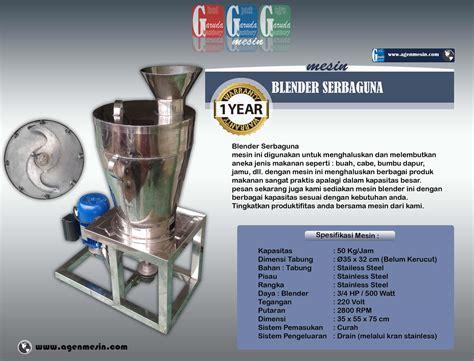 Blender Bumbu jual mesin penggiling bumbu blender harga murah malang oleh garuda machinery