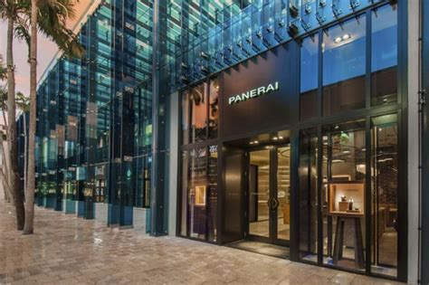 design store miami florida panerai opens flagship store in miami watch world