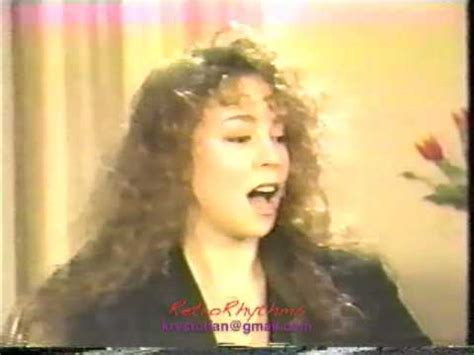 mariah carey 1992 mariah carey 1992 interview ebony jet showcase youtube