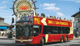 Big Bus San Francisco Map by Alcatraz Night Tour With Hop On Hop Off Bay City Guide