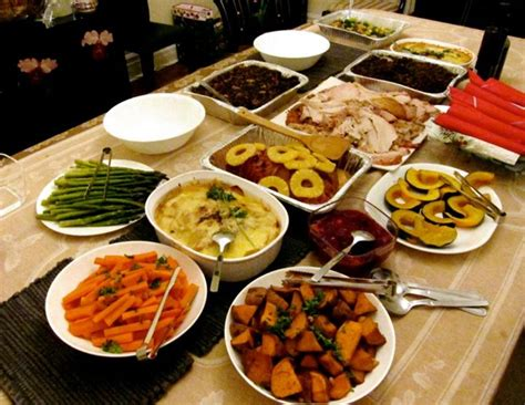 happy thanksgiving dinner ideas recipes science and