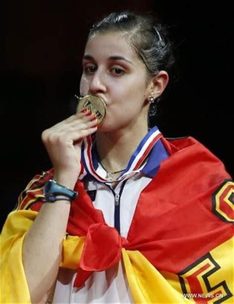 badminton player carolina marin wins world title sports news sina