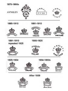 17 best images about tea cup back stamps on pinterest