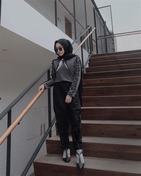 Hight Heels Hitam Permata S072 ootd baju kekinian ala selebgram 2018 wedges high heels sunglasses