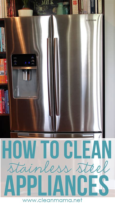 how to clean stainless steel appliances diy craft projects