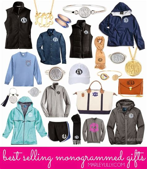 Monogrammed Gifts - best selling monogrammed gifts from marleylilly