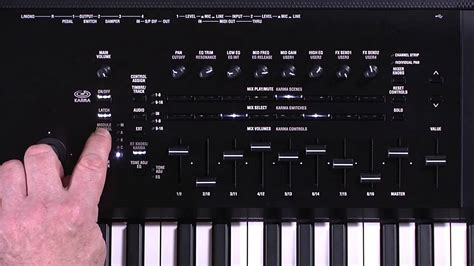 The New Korg Kronos Video Manual Part 3 Karma And Drum
