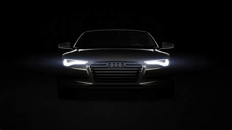 Black Audi Wallpaper Hd Wallpaper