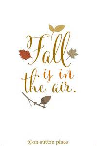 Click to download fall is in the air free printable