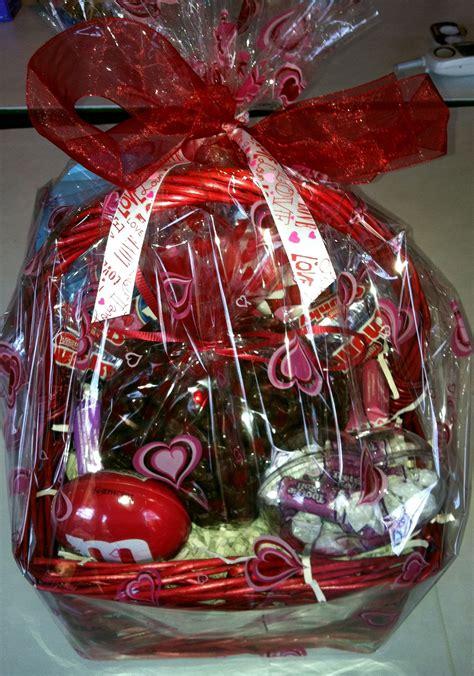 gift for valentines together snack basket for him put together all his