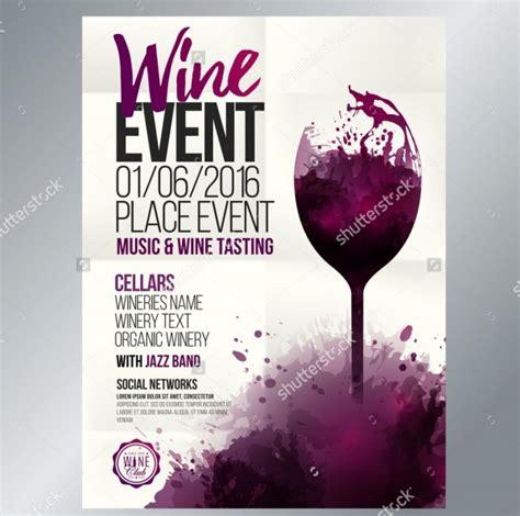 26 Wine Flyer Designs Psd Vector Eps Jpg Download Freecreatives Wine Tasting Event Flyer Template Free