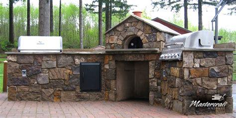 outdoor kitchen oven mastercraft masonry professional masonry since 1974