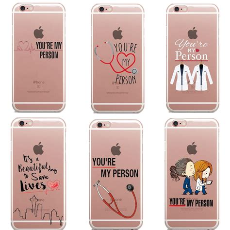 You Are My 6 greys anatomy you are my person phone cases cover for