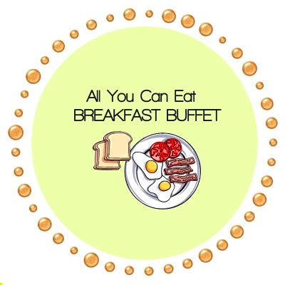 all you can eat breakfast buffet clip art cliparts
