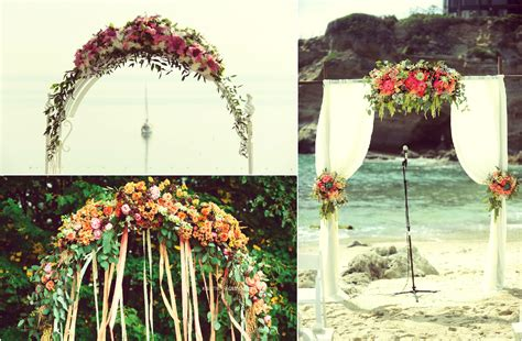 Wedding Arch Size by Best Decoration For Wedding Arch