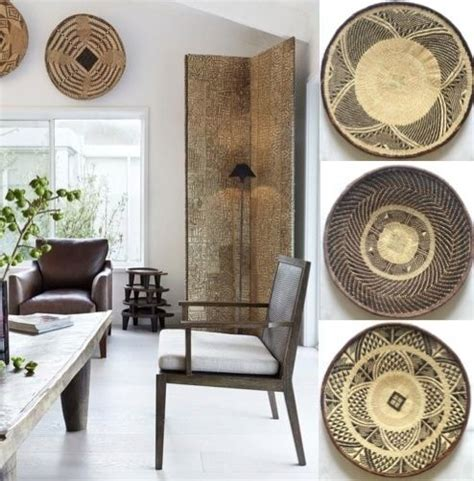 10 african home decor ideas african baskets my style pinterest style wall