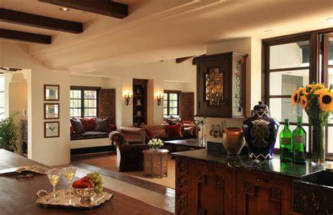 modern spanish traditional interior design by ownby spanish colonial