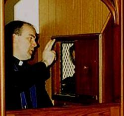 the confession room bishop farrell pushes for more confession a for dallas area catholics