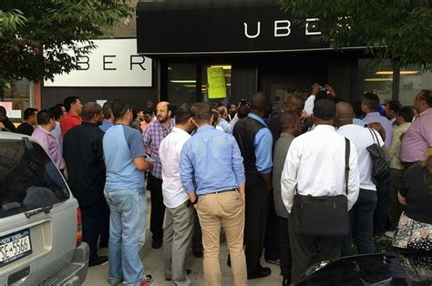 uber drivers quot strike quot and switch to lyft fares
