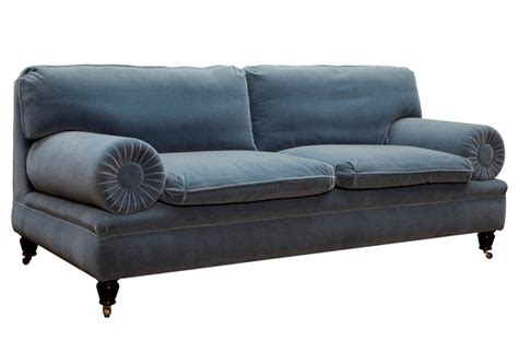 used george smith sofa george smith sofa beautiful french blue velvet chairs