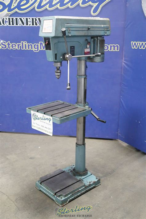wilton variable speed floor drill press sterling