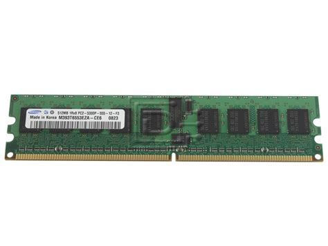 Ram Ddr2 Samsung samsung micron nec hynix nanya kingston generic 512mb ddr2 cl 5 registered