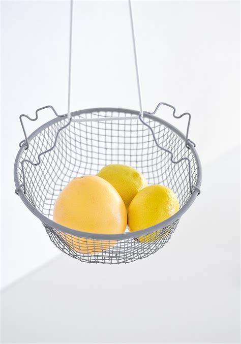 diy hanging fruit basket home decorating diy