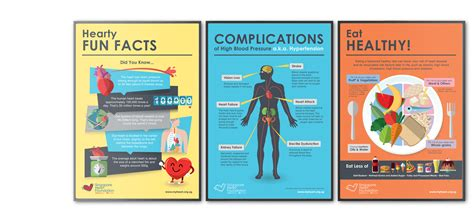 poster design health heart health poster design for singapore heart foundation