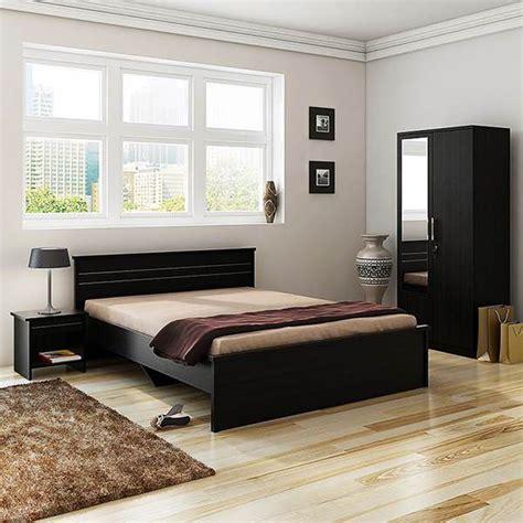 spacewood carnival bedroom set queen bed wardrobe  mirror side table buy spacewood