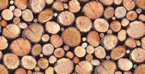 Wallpaper Wednesday: Stacked Logs Wallpaper from Albany   Love Chic Living