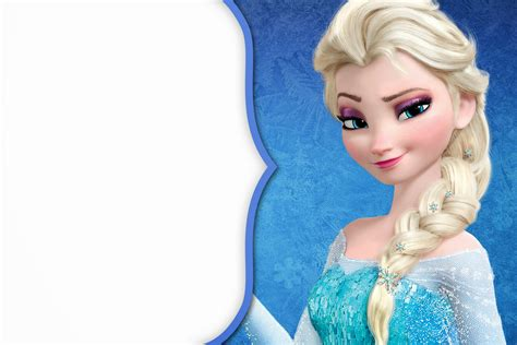 elsa free frozen free printable cards or invitations oh my